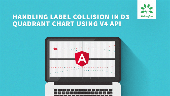 Handling Label Collision in D3 Quadrant Chart using v4 API - WalkingTree Blog