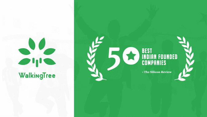 Walking Tree recognised among Top 50 Best Indian Founded Companies - WalkingTree Blogs