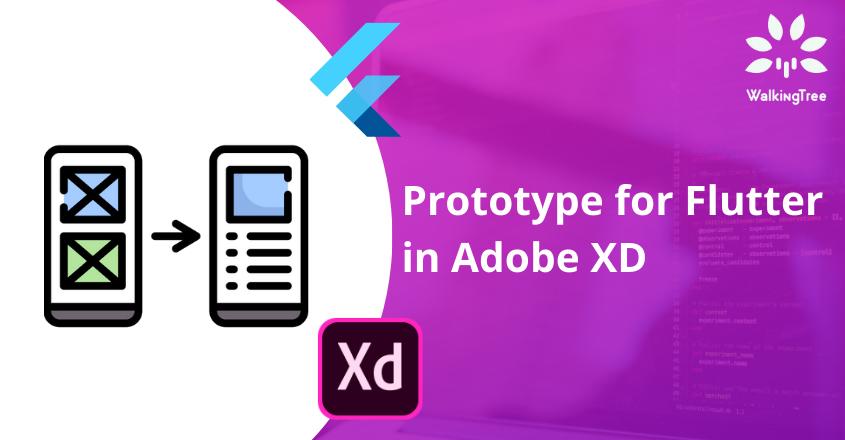 Prototype for Flutter in Adobe XD