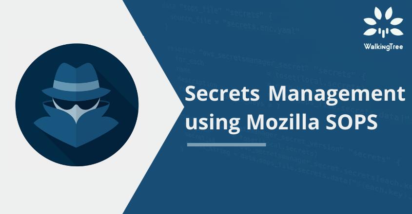 Secrets Management using Mozilla sops