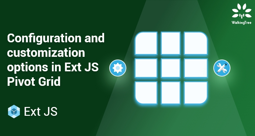 Configuration and customization options in Ext JS Pivot Grid