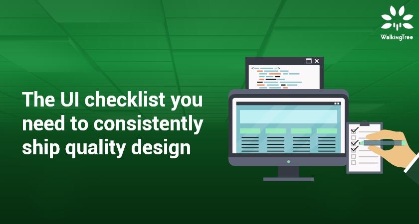 UI Checklist