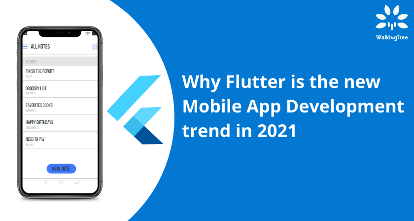 Why Flutter is the new Mobile App Development trend in 2021