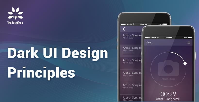 Dark UI Design Principles