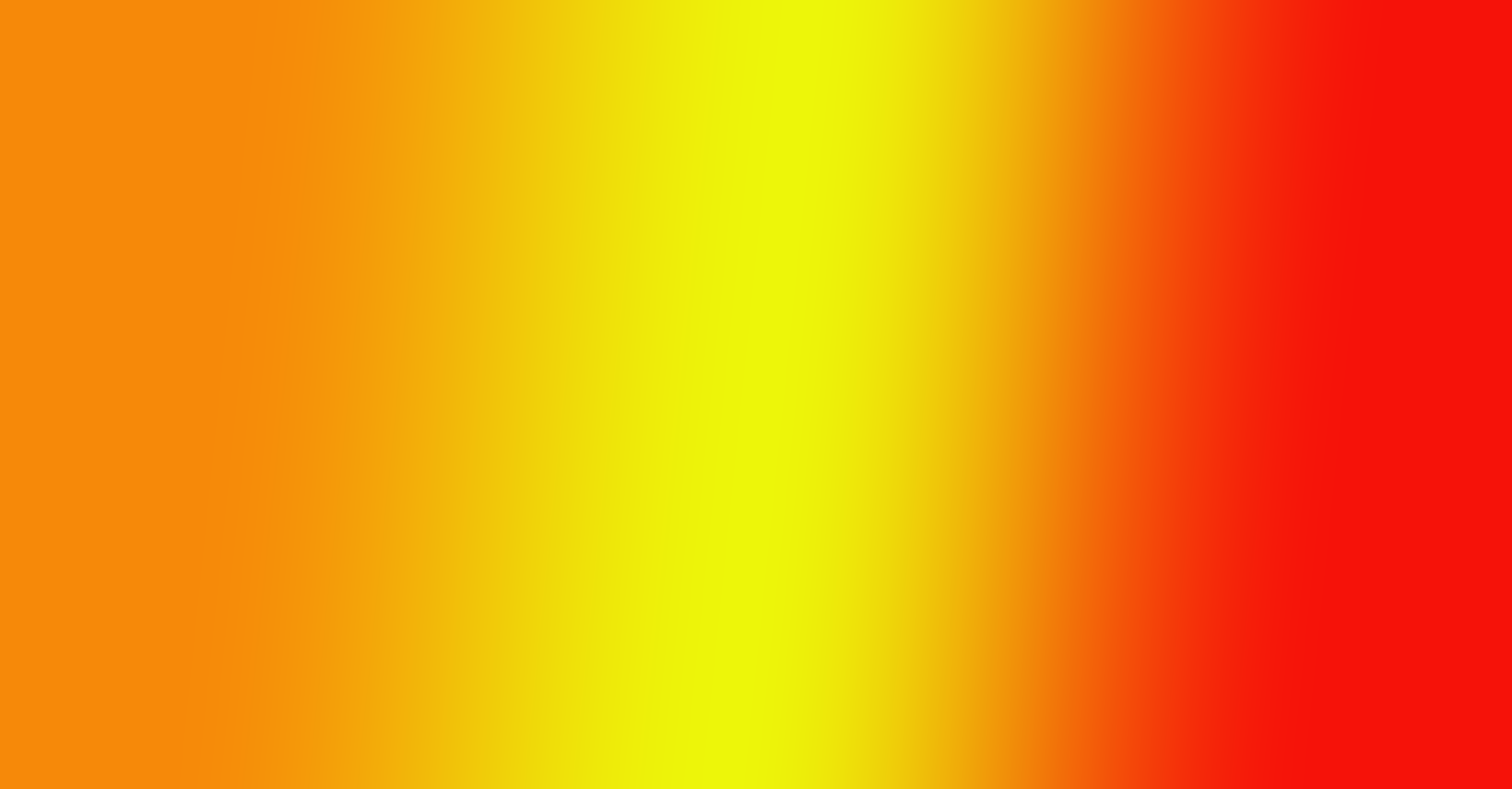Image showing why highly saturated analogous colors don't work for gradients