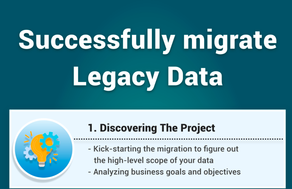 steps to simplify Data Migration Process with Legacy Applications