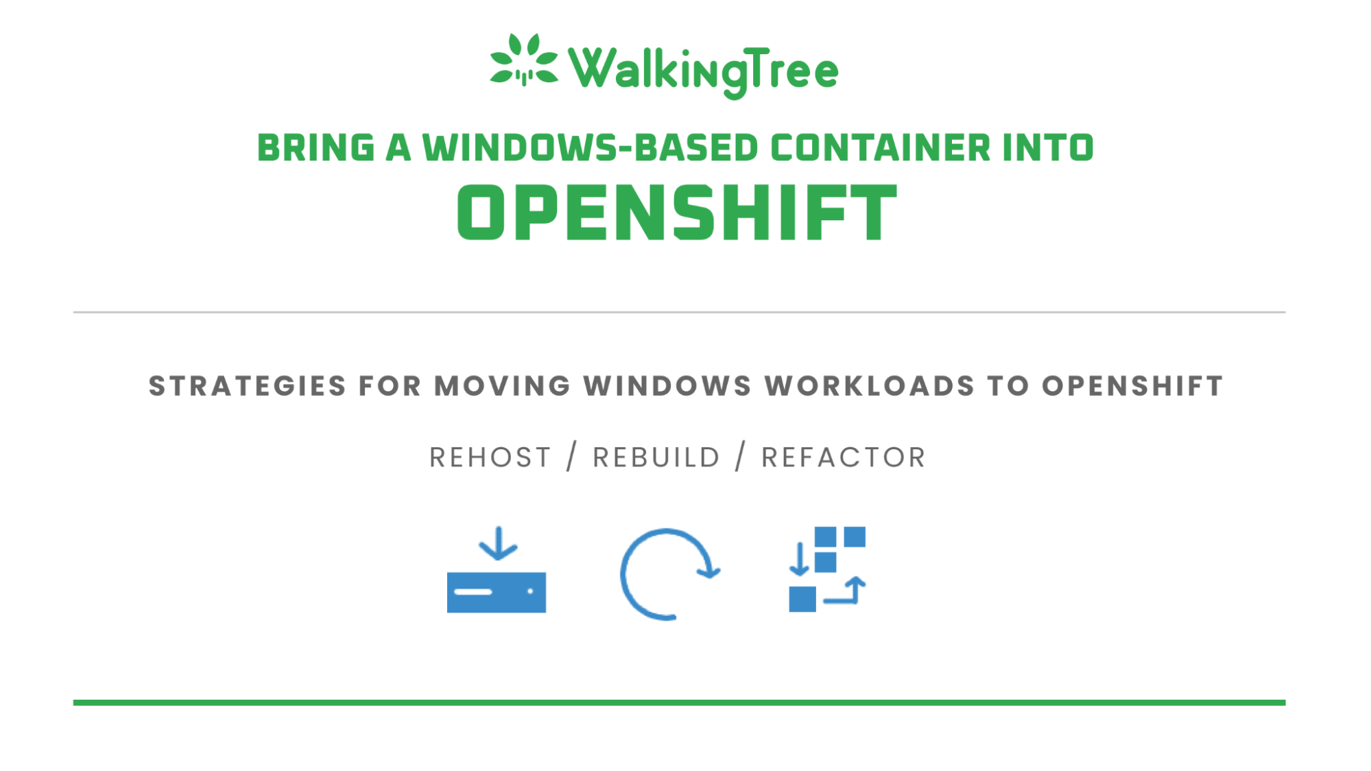 Bring a Windows-based container into OpenShift